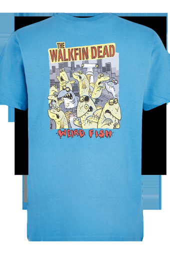 Walkfin Dead Artist T-Shirt Blue Wash