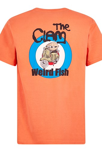 The Clam Artist T-Shirt Orangeade