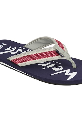 Waterford Branded Flip Flop Navy