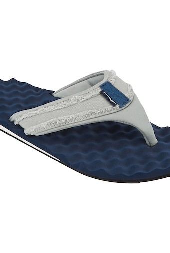 Wexford Waffle Flip Flop Navy
