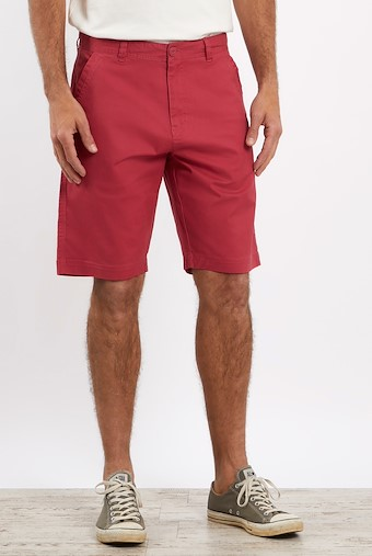 Ballina Relaxed Casual Shorts Berry