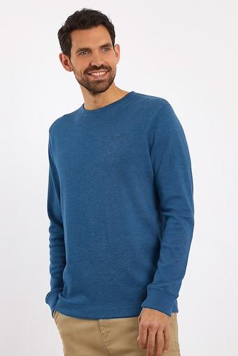Madron Long Sleeve T-Shirt Denim