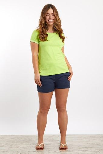 Trinity Cotton Short Sleeve T-Shirt Acid Lime