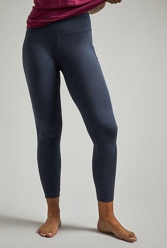 Kayla Bamboo Yoga Leggings Navy Marl