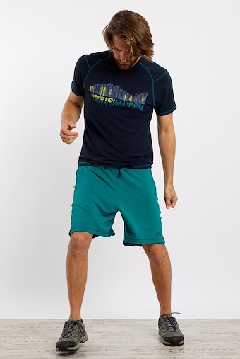 Hypnos Bamboo Shorts Deep Teal