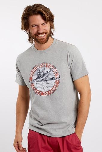 WF Tours Graphic T-Shirt Grey Marl