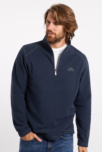Hagan 1/4 Zip Microfleece Navy