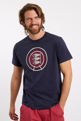 Origin Graphic T-Shirt Navy