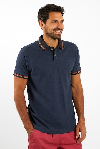 Canvey Pique Polo Navy