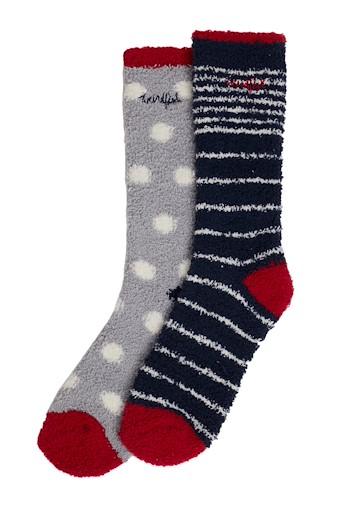 Park Fluffy Socks Navy
