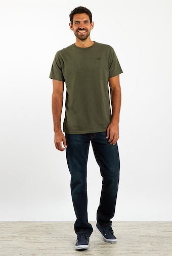 Fished T-Shirt Dark Olive