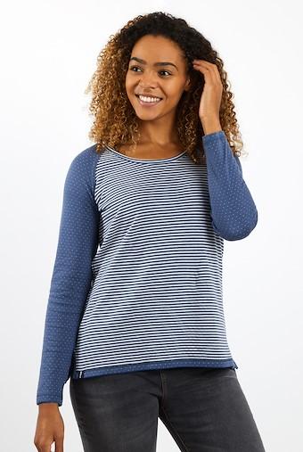 Franny Reversible T-Shirt Ensign Blue