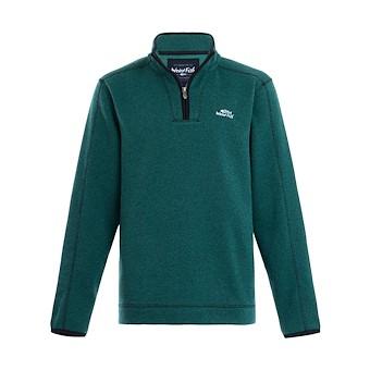 Stowe 1/4 Zip Soft Knit Fleece Dark Green