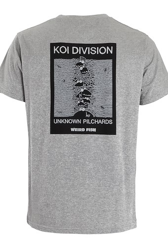 Koi Division Artist T-Shirt Grey Marl