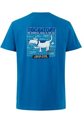 Dognatomy Battersea Artist T-Shirt Storm Blue