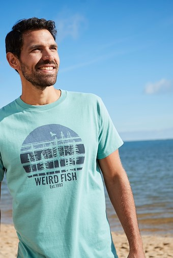 Stay Wild T-Shirt Washed Teal