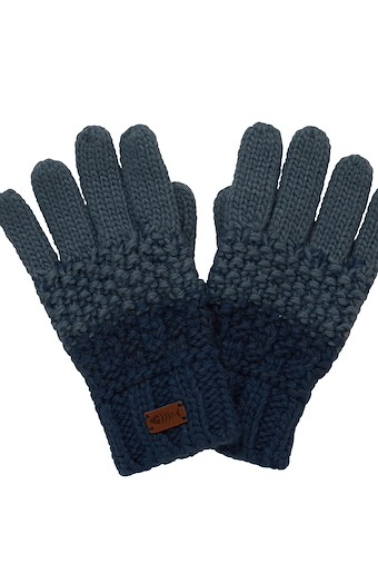 Innis Knit Gloves Navy
