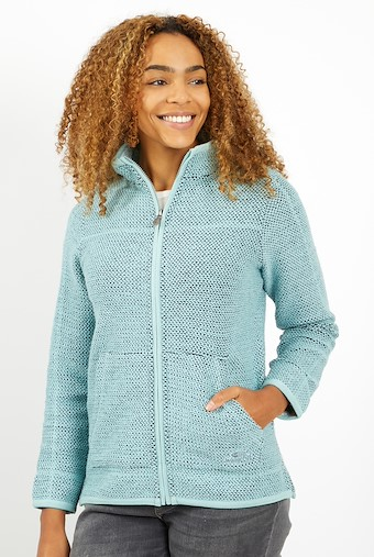 Sontee Full Zip Eco Macaroni Mint Green