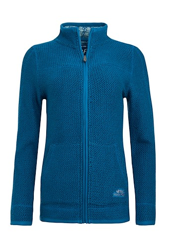 Sontee Full Zip Eco Macaroni Storm Blue