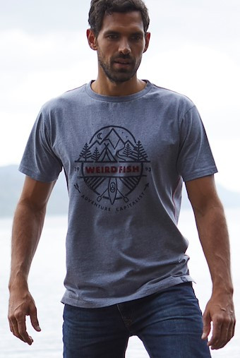 Adventure T-Shirt Blue Mirage