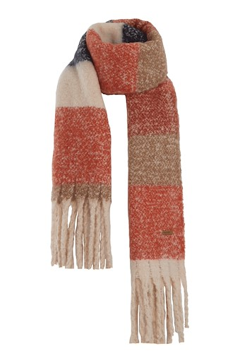 Katy Brushed Scarf Burnt Orange