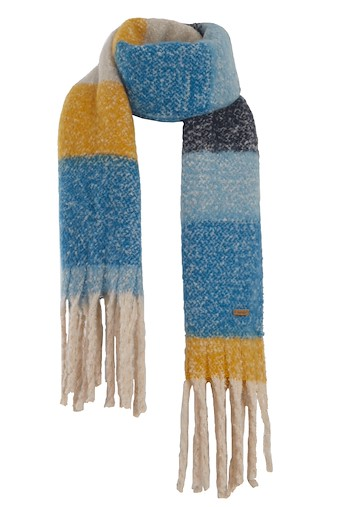 Katy Brushed Scarf Storm Blue