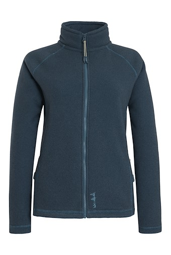 Vanya Full Zip Bonded Fleece Smoked Blue