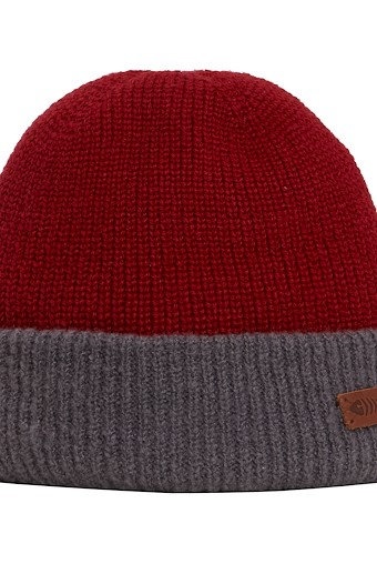 Yukon Reversible Beanie Hat Cement