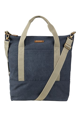 Kingham Canvas Holdall Navy