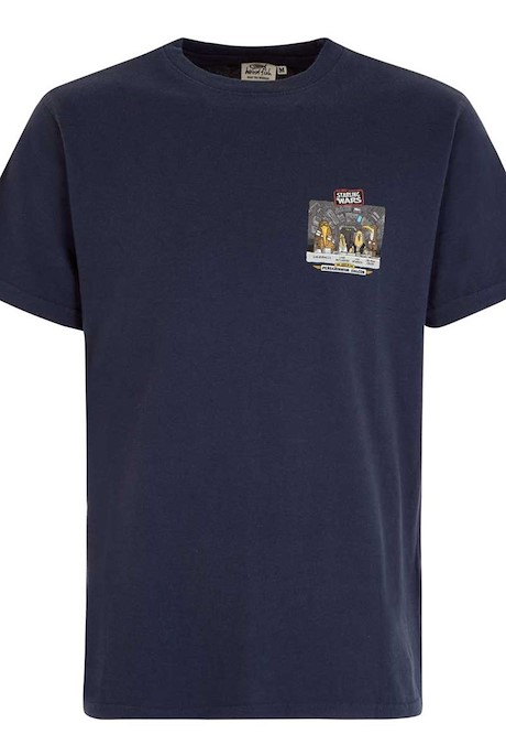 Starling Wars Artist T-Shirt Blue Indigo