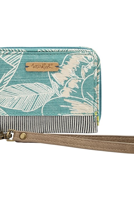 Esher Printed Coin Purse Viridis