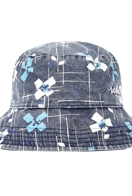 Cleethorpes Printed Reversible Hat Midnight