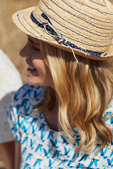 Mamon Straw Panama Hat Natural