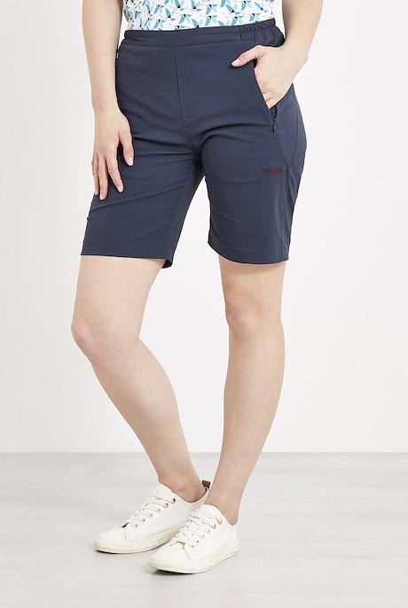 Harrima Quick Dry Walk Shorts Dark Navy