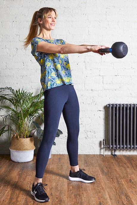 Kayla Bamboo Yoga Leggings Dark Navy