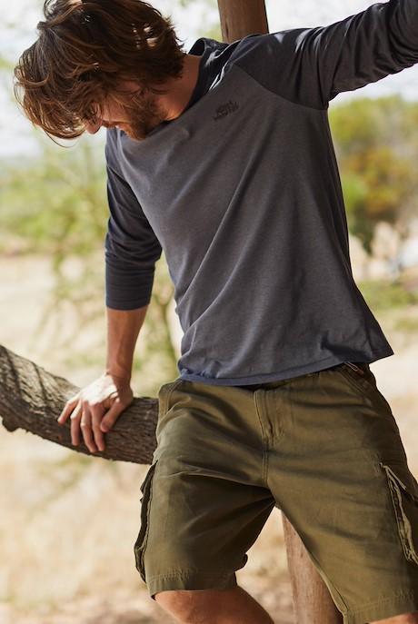 Brize Cotton Twill Cargo Shorts Burnt Olive