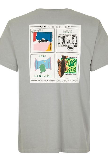 Genefish Artist T-Shirt Gunmetal