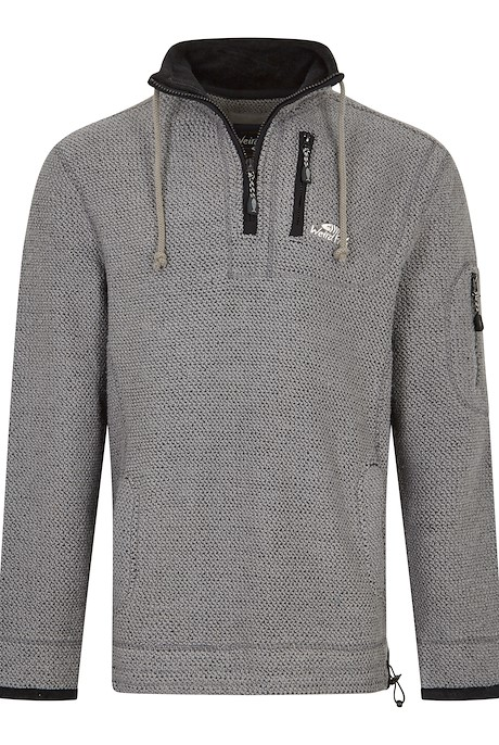 Parkway 1/4 Zip Tech Macaroni Sweatshirt Cement