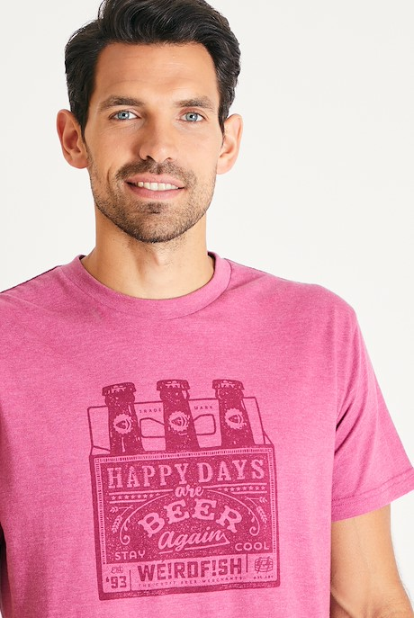 Happy Days Branded T-Shirt Malaga Marl