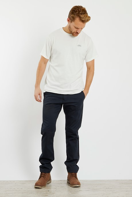 Bugle Super Soft Casual Chino Dark Navy