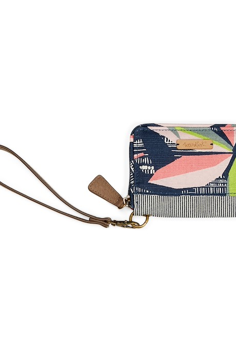 Esher Patterned Coin Purse Navy