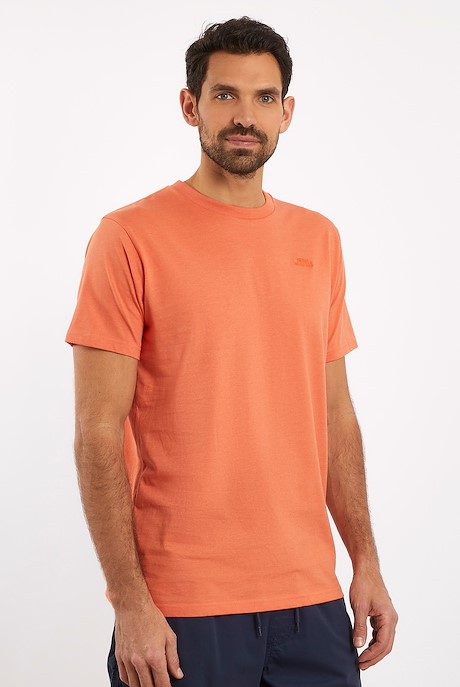 Fished Plain Branded T-Shirt Orangeade