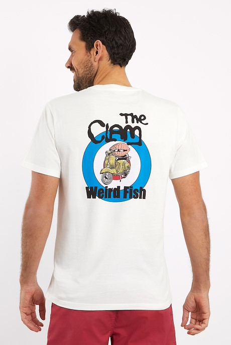 The Clam Artist T-Shirt Marshmallow