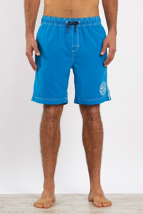 Cork Branded Board Shorts Blue Wash