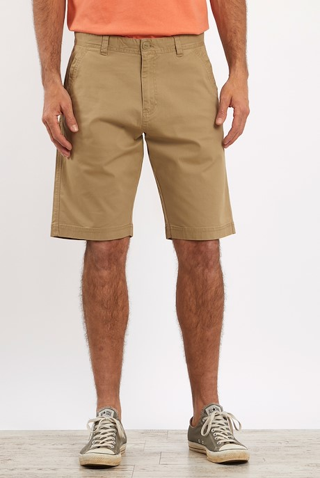 Ballina Relaxed Casual Shorts Taupe Grey