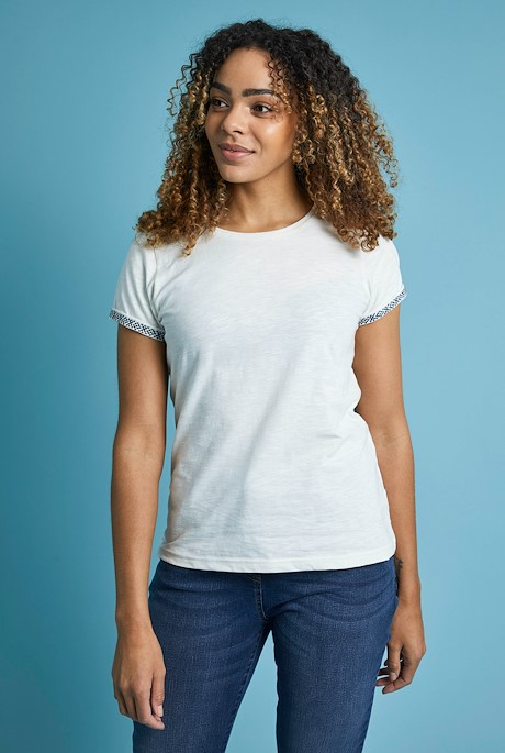 Trinity Organic Cotton Outfitter T-Shirt Light Cream