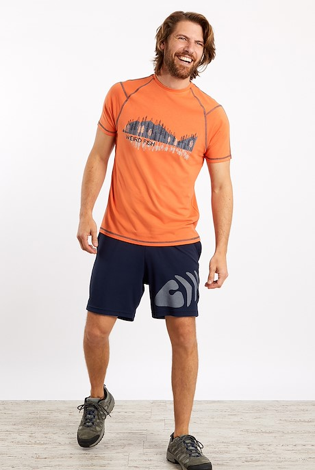 Evander Gym Shorts Navy