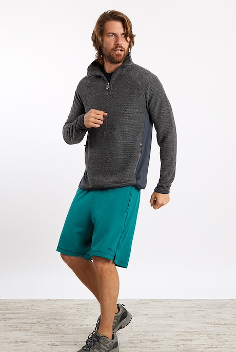 Alevin 1/4 Zip Active Macaroni Cement