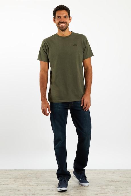 Fished T-Shirt Dark Olive