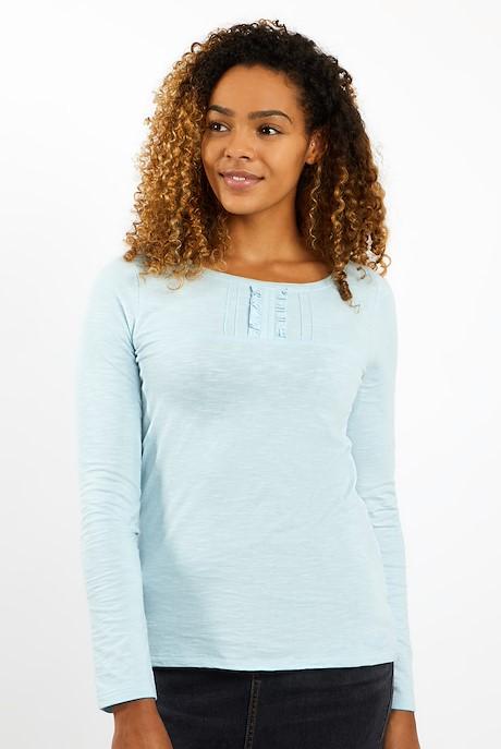 Carolina Organic Cotton Outfitter T-Shirt Winter Sky